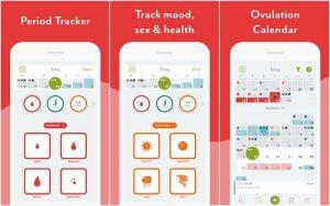Aplikasi Clue Period Tracker, Cycle and Ovulation Calendar