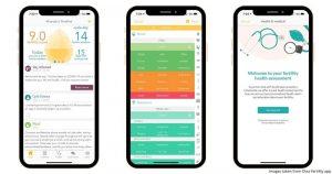 Aplikasi Ovia Fertility & Cycle Tracker