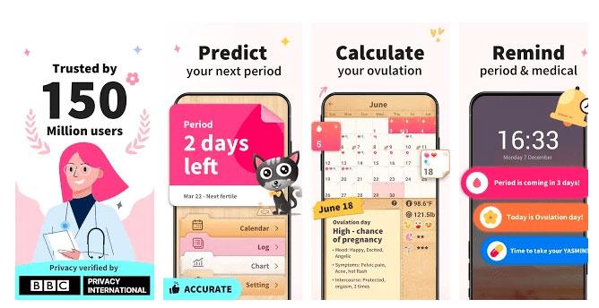 Aplikasi Ovulation Calendar